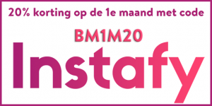 Korting bij instafy.nl